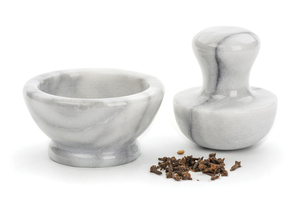 White Marble Spice Grinder