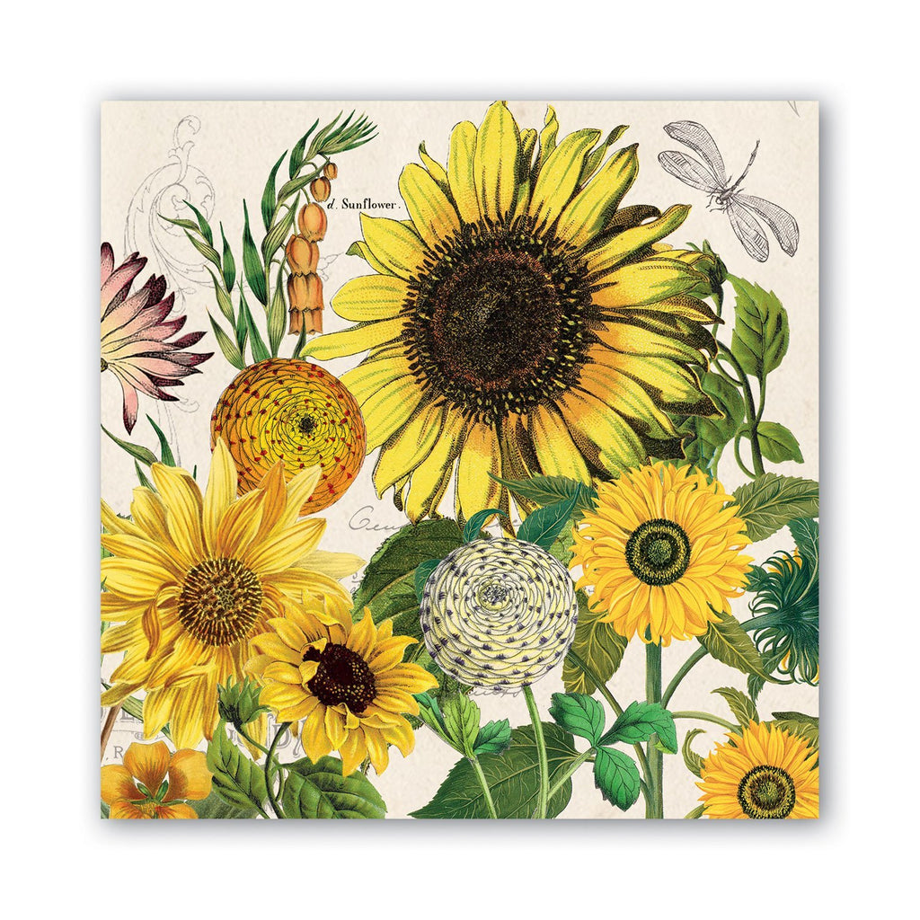 Sunflower Luncheon Napkin