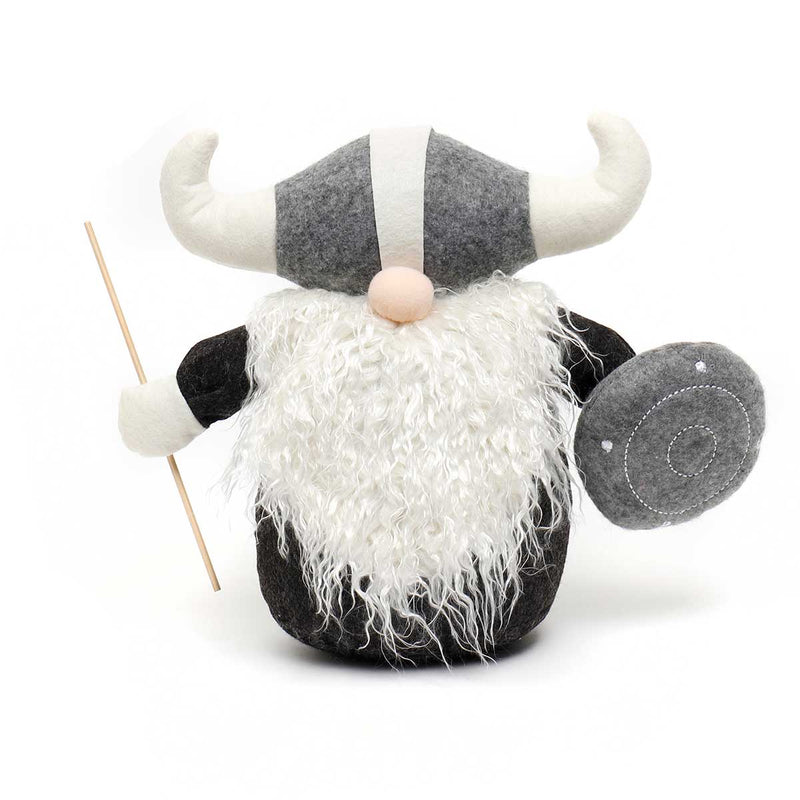 "11"" THOR VIKING GNOME WITH SHIELD & STAFF"