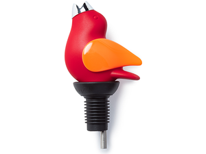 CHIRPYTOP Wine Pourer- RED/ORANGE