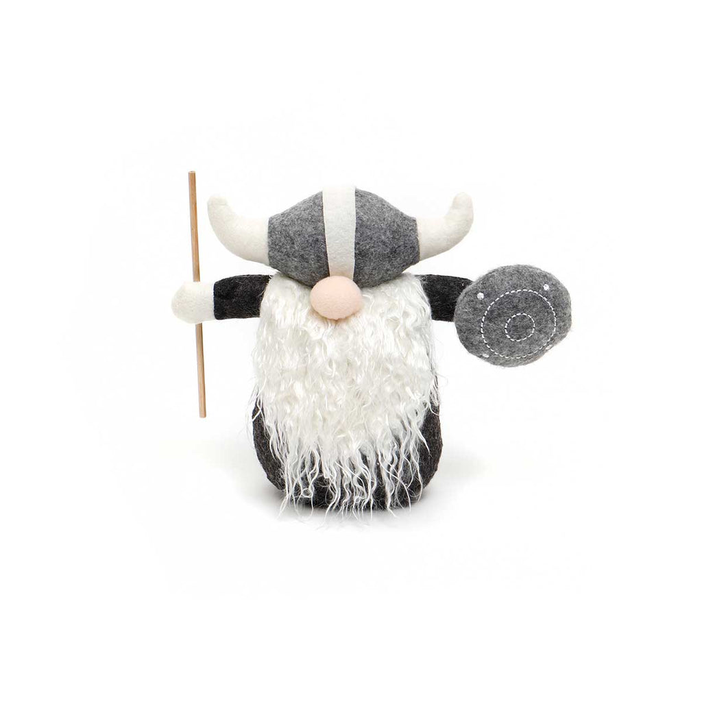 "7"" THOR VIKING GNOME WITH SHIELD & STAFF"