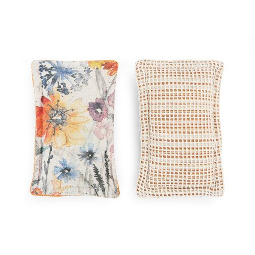 Meadow Flowers Kitchen Sponge- Set of 2