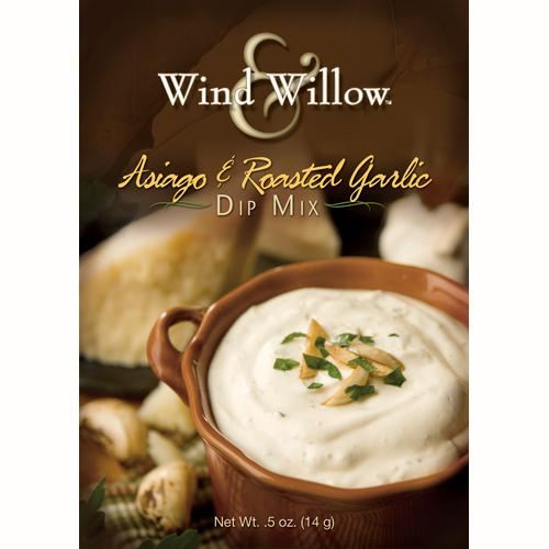 ASIAGO & ROASTED GARLIC DIP MIX