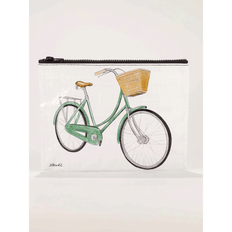 BICYCLES ZIPPER POUCH