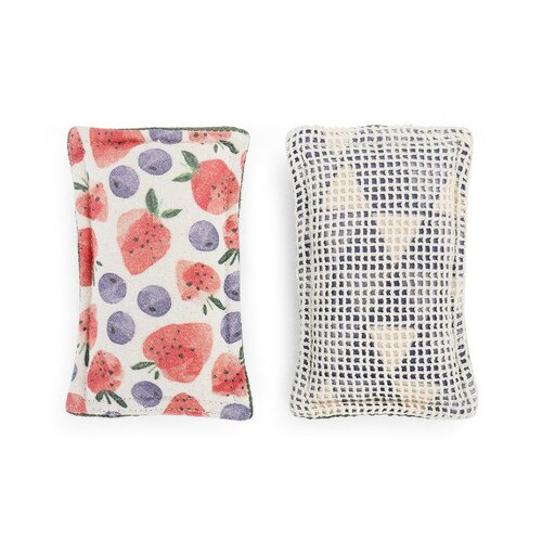 Strawberries Kitchen Sponge- Set of 2