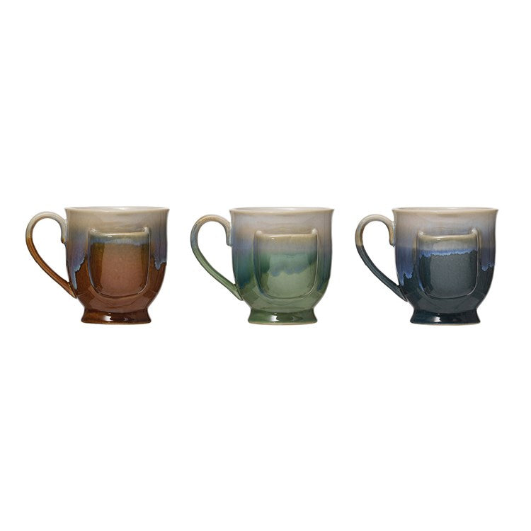 Reactive Glaze Teabag Mugs