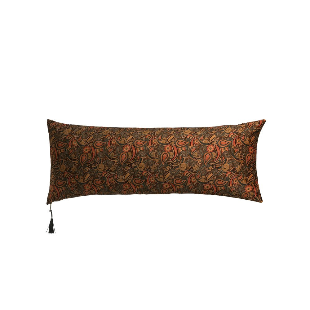 Paisley Printed Lumbar Pillow