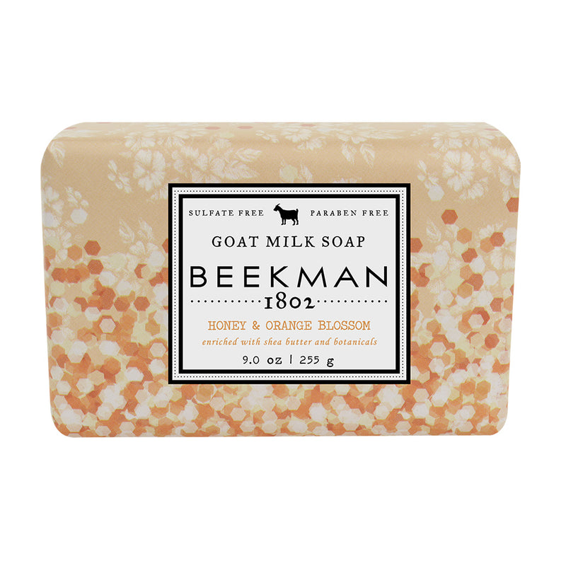 9OZ HONEY ORANGE BAR SOAP