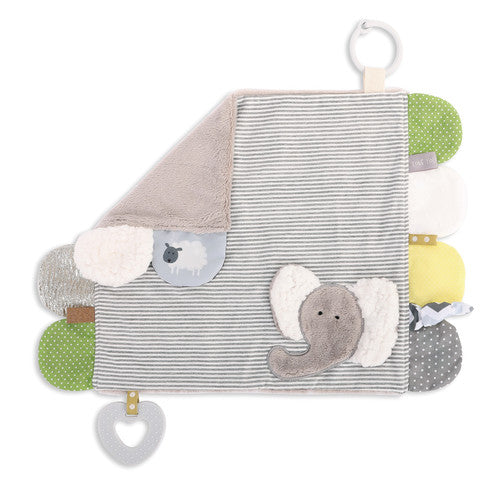 Mommy & Me Activity Blankie - Elephant