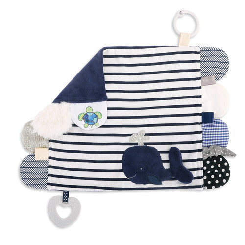 Mommy & Me Activity Blankie - Whale
