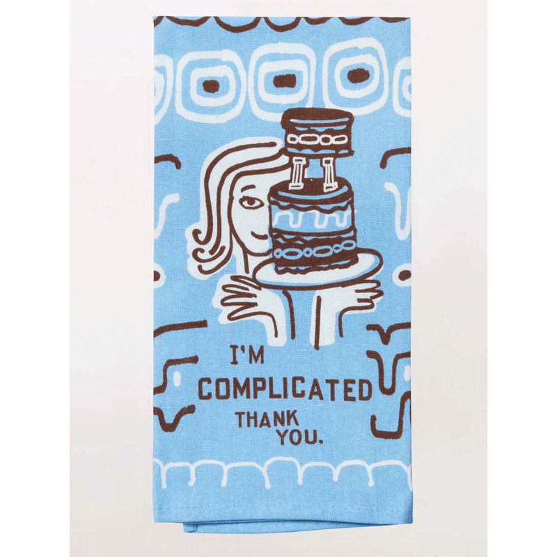 I'M COMPLICATED DISH TOWEL