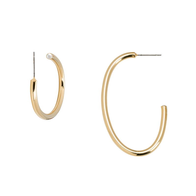 JUNE OVAL EARRINGS