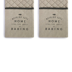 SMELL OF BAKING DOUBLE OVEN MITT