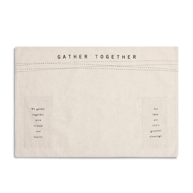 Gather Together Utensil Pocket Placemat