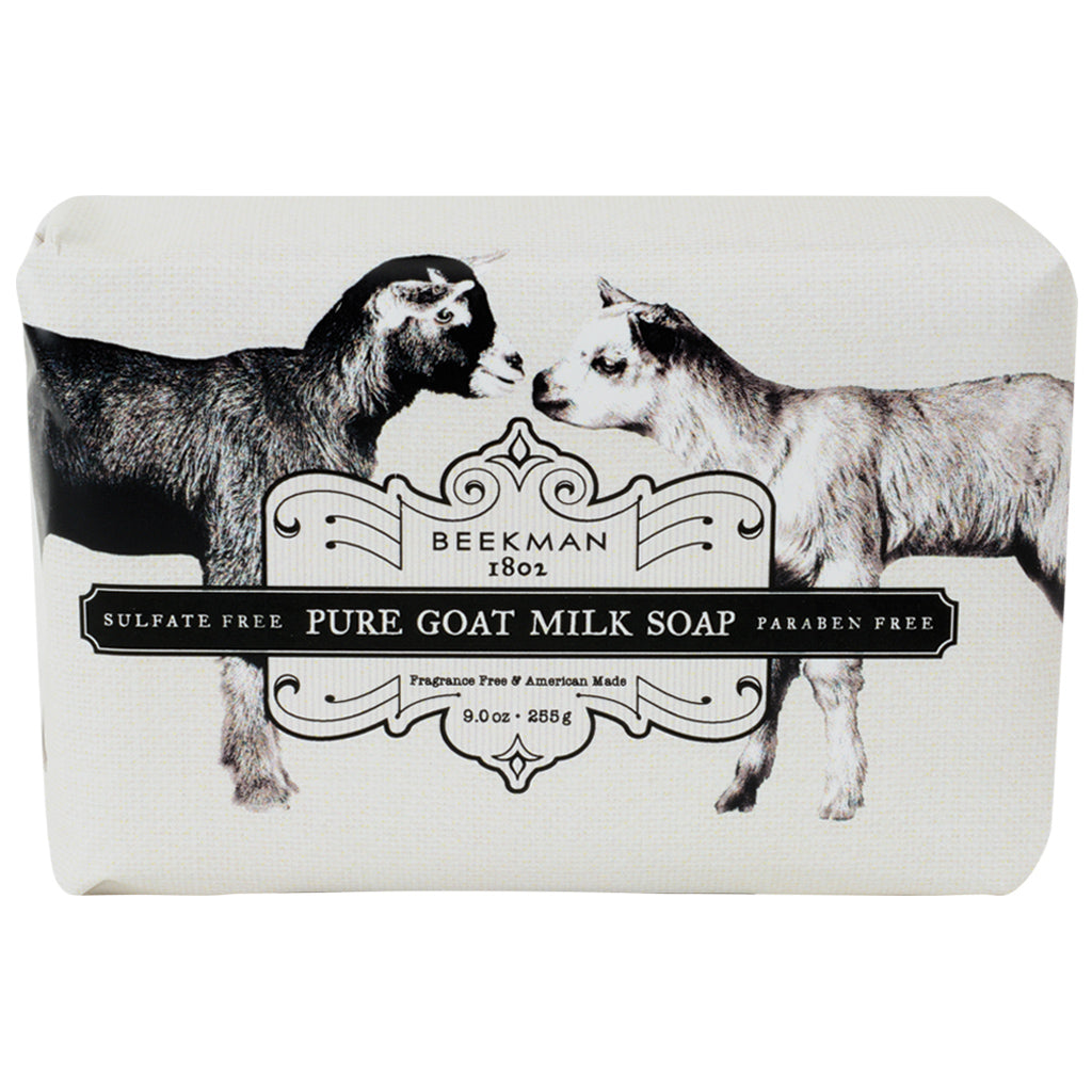 9 OZ GOAT MILK BAR SOAP