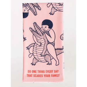 SCARES YOUR FAMILY DISH TOWEL