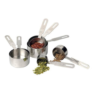 Stainless Steel Measuring Cups 7pc