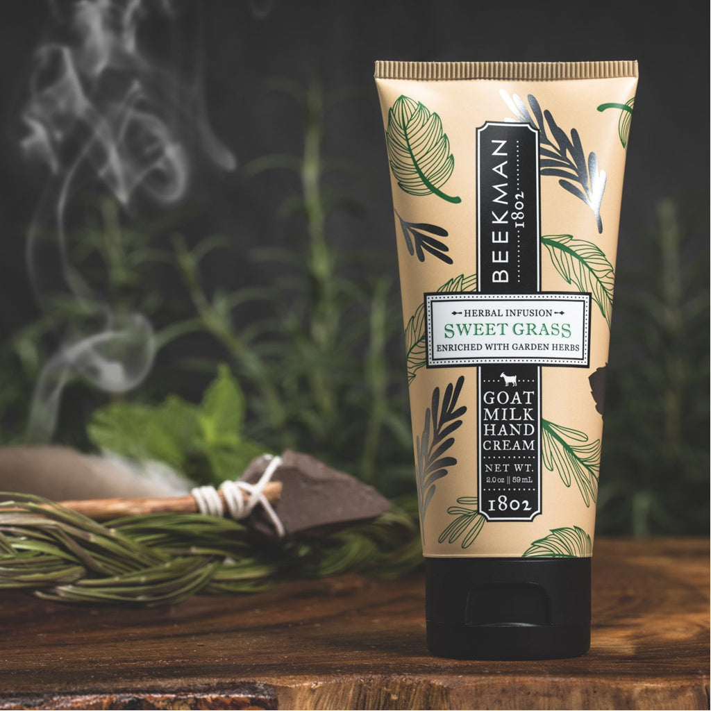 2 OZ SWEET GRASS HAND CREAM
