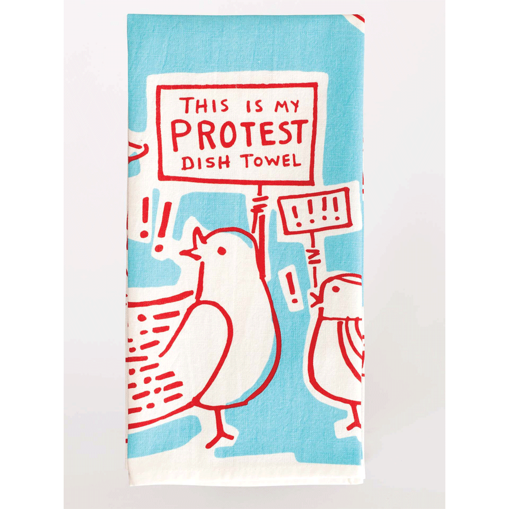 THIS IS MY PROTEST DISH TOWEL