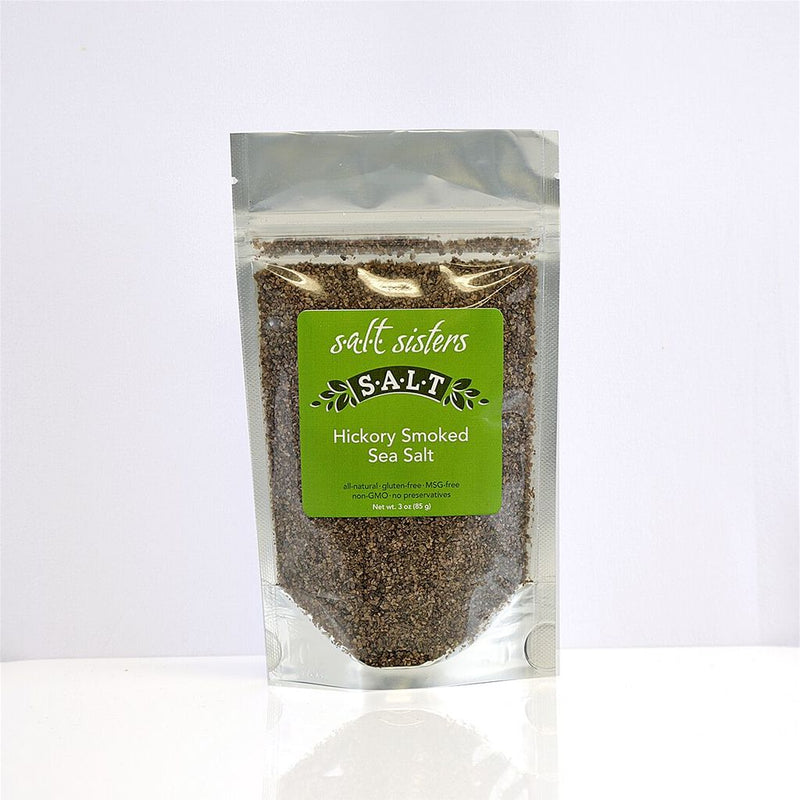 Hickory Smoked Sea Salt 3 oz.