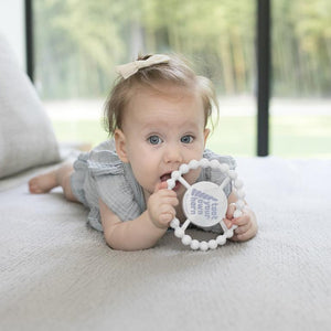 TOOT YOUR HORN MARBLE TEETHER