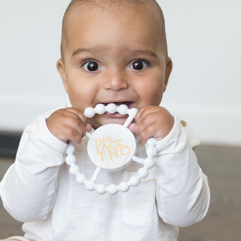 THIS FACE MARBLE TEETHER
