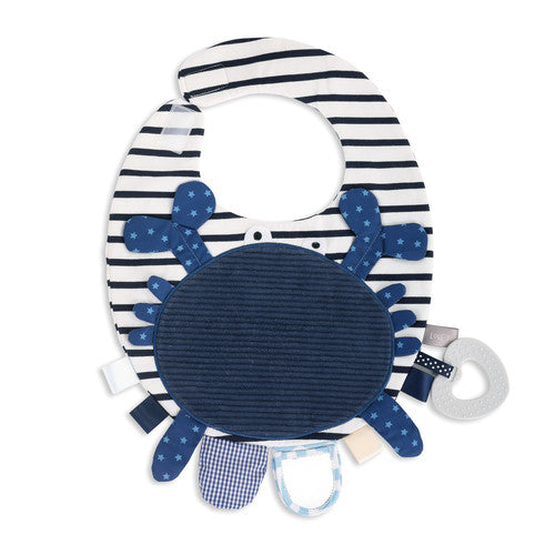 Mommy & Me Activity Bib - Crab