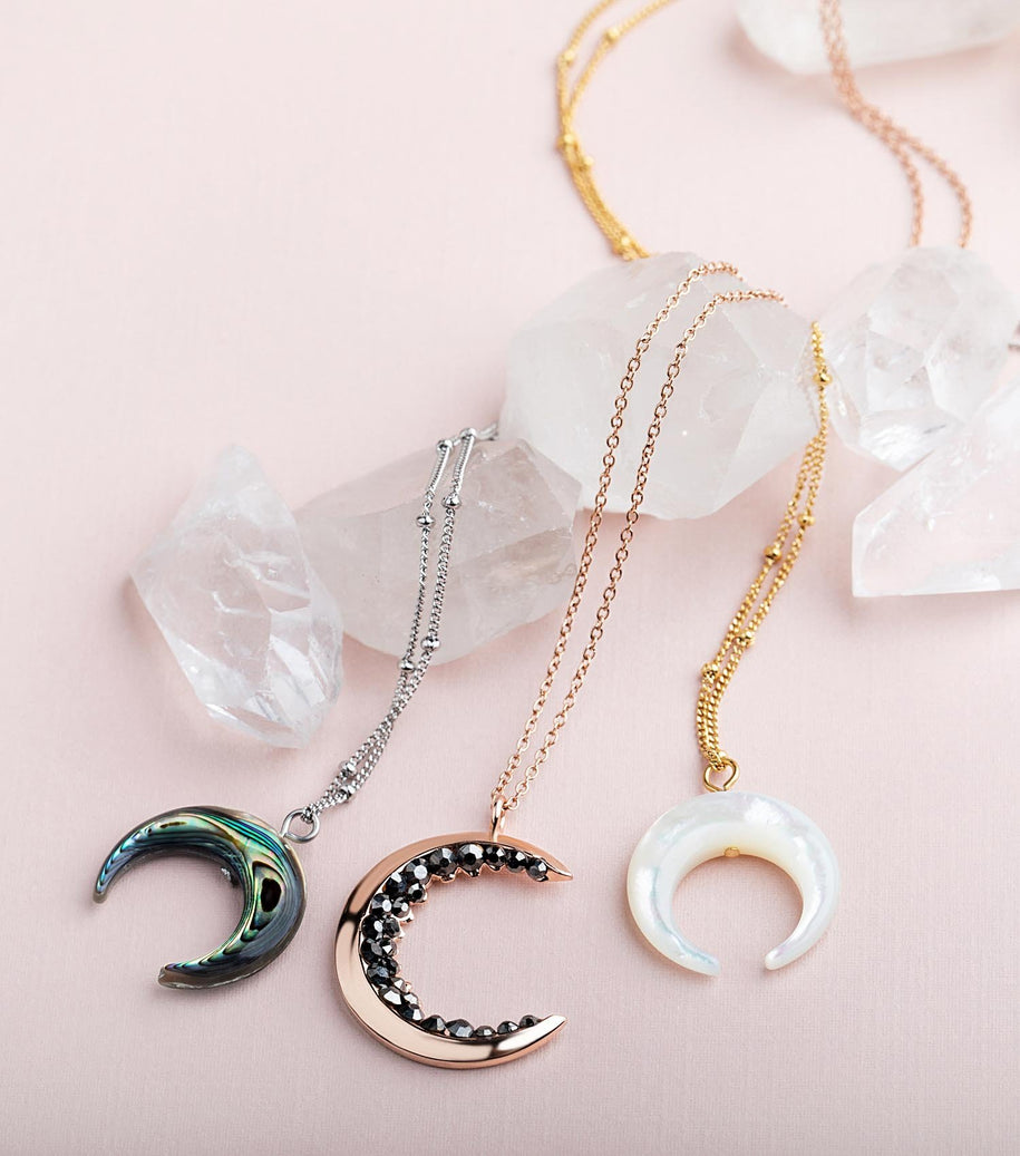 Moon Necklaces & Pendants