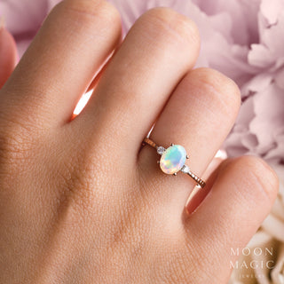 Opal Diamond Ring - In Dreams