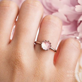 Rose Quartz Ring - Holy Oath