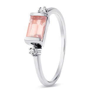 Rose Quartz Ring - Poshness