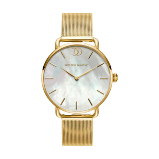 Watch - Yellow Gold Pearlia