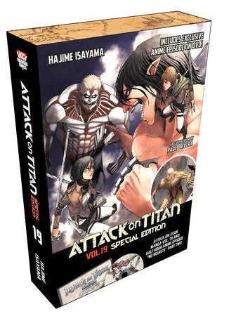 Attack on Titan 19 Special Edition with DVD
