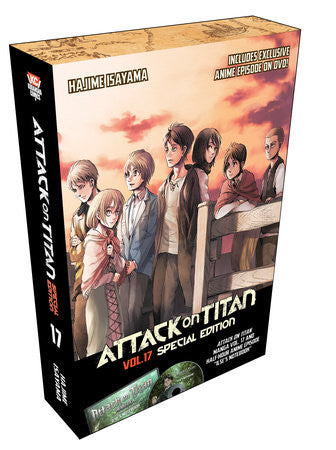 Attack on Titan 17 Special Edition with DVD