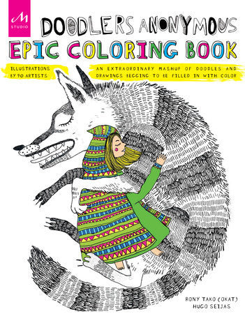 Doodler's Anonymous Epic Coloring Book