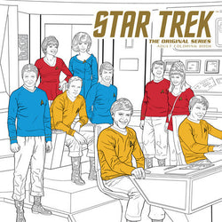 Star Trek: The Original Series Adult Coloring Book