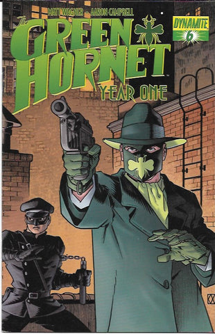 Green Hornet : Year One  # 6 Dynamite Entertainment