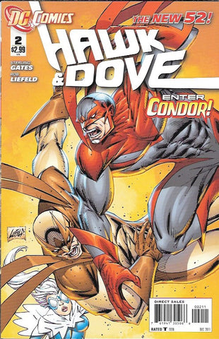 Hawk And Dove  # 2 DC Comics The New 52! Vol 5 First Print