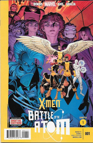 X-Men : Battle Of The Atom # 1 Marvel Now ! First Print