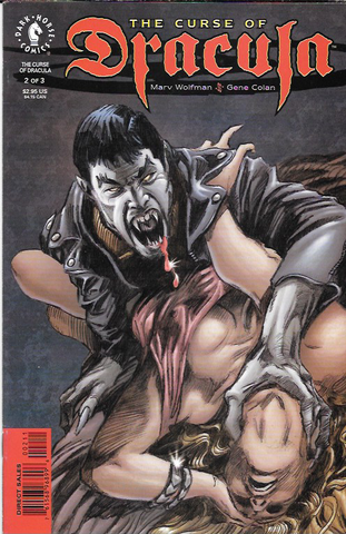 The Curse Of Dracula # 2 Dark Horse Comics