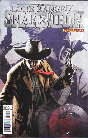 The Lone Ranger : Snake Of Iron # 2 Dynamite Entertainment