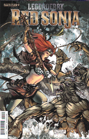 Legenderry : Red Sonja # 2 Dynamite Entertainment