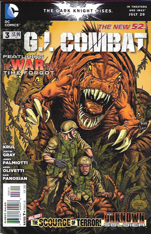 G.I. Combat # 3 DC Comics The New 52! Vol 3