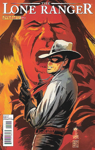 The Lone Ranger # 12 Dynamite Entertainment