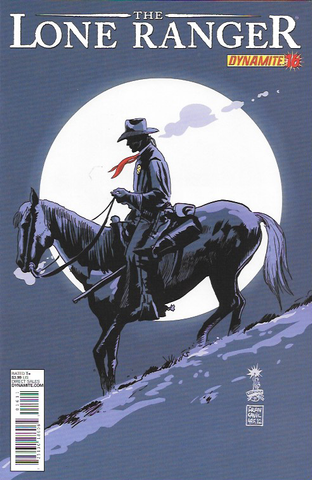 The Lone Ranger # 16 Dynamite Entertainment