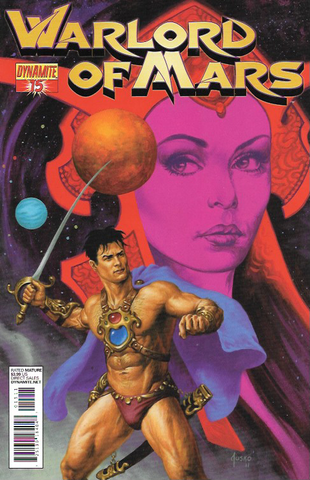 Warlord Of Mars # 15 Dynamite Entertainment