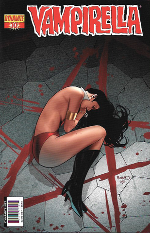 Vampirella # 10 Dynamite Entertainment Vol. 4