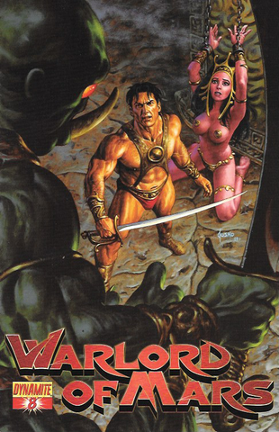 Warlord Of Mars # 8 Dynamite Entertainment