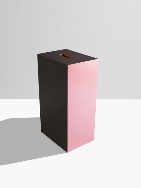Plywood in Pink and Black