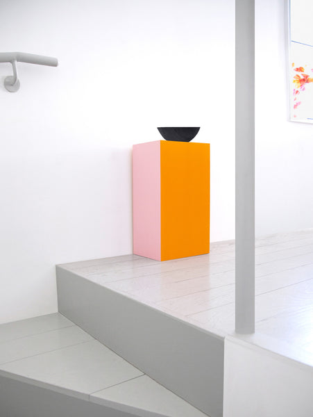Plywood in Pink and Orange